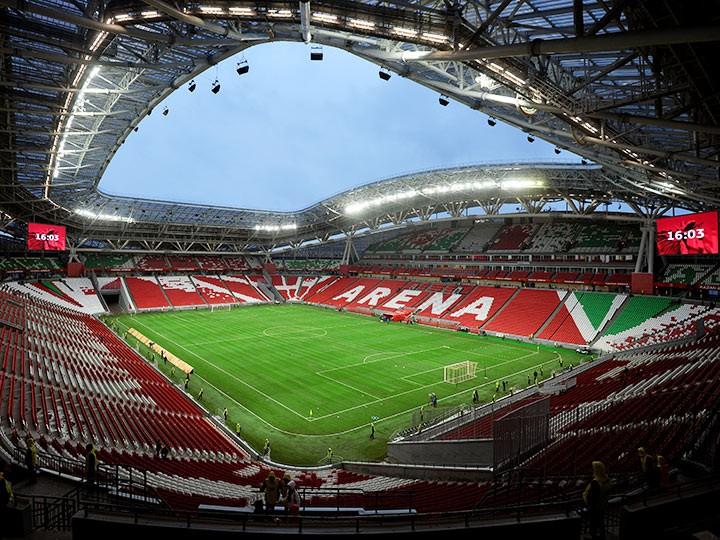 «Казань Арена» получит новый газон к чемпионату мира—2018