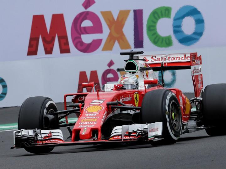 Гран-при Мексики: Феттель быстрее всех в тренировках, Квят — 11-й