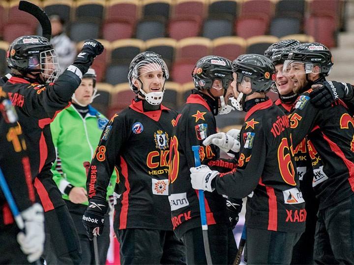 Хабаровский «СКА-Нефтяник» выиграл Кубок России по хоккею с мячом