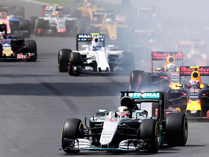 Гран-при Мексики: Хэмилтон победил, Квят — 18-й