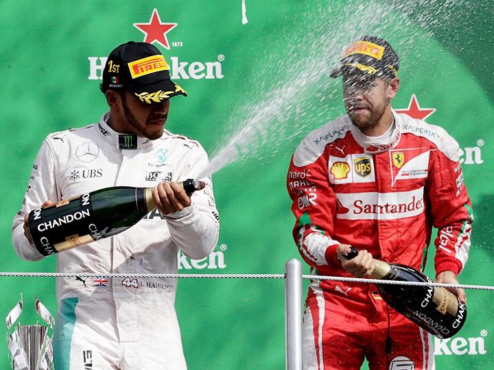 Гран-при Мексики: Хэмилтон догоняет Росберга, Риккардо — третий