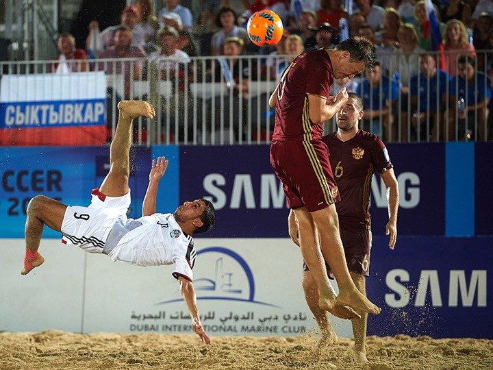 Межконтинентальный кубок по пляжному футболу. Как Россия громила Египет