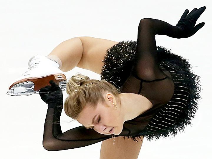 Фигуристка Юлия Липницкая травмировалась намосковском этапе Гран-при