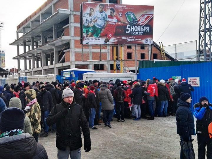 «Томь» — «Спартак»