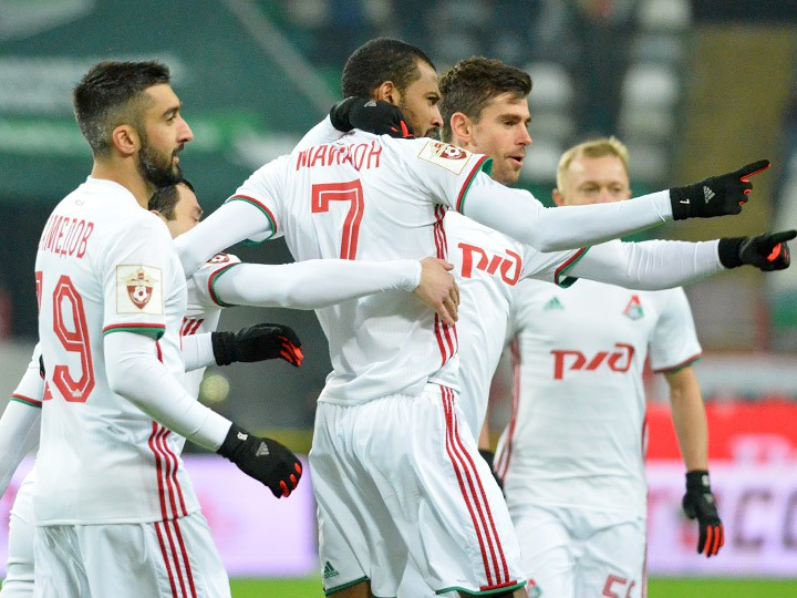 «Локомотив» — «Анжи» — 4:0
