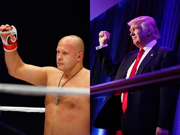 Дональд Трамп причастен к миру бокса и ММА