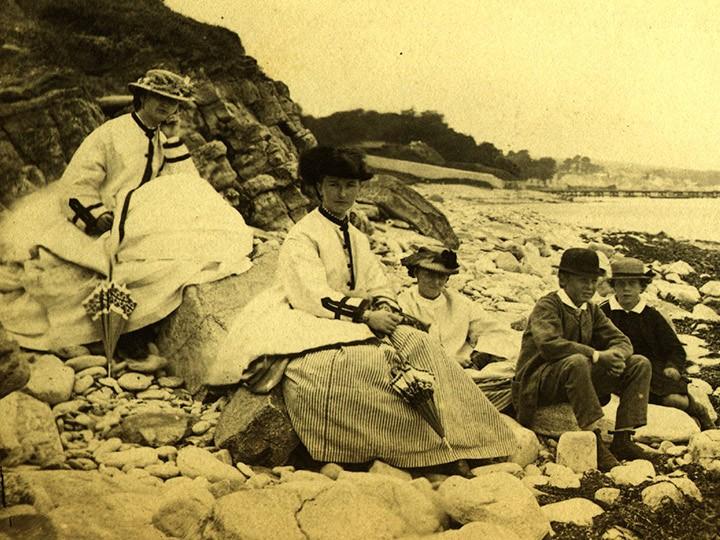 Восхождение участников Крымского горного клуба на Чатырдаг в 1891 году