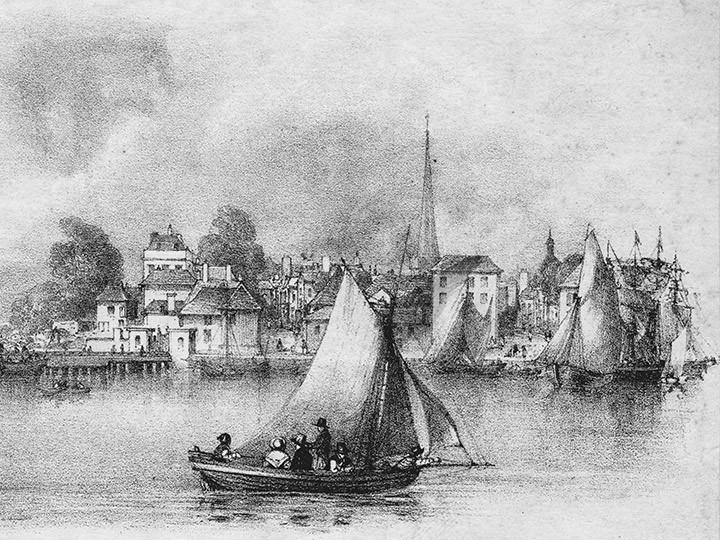 Как прошли первые гонки Петербургского речного яхт-клуба