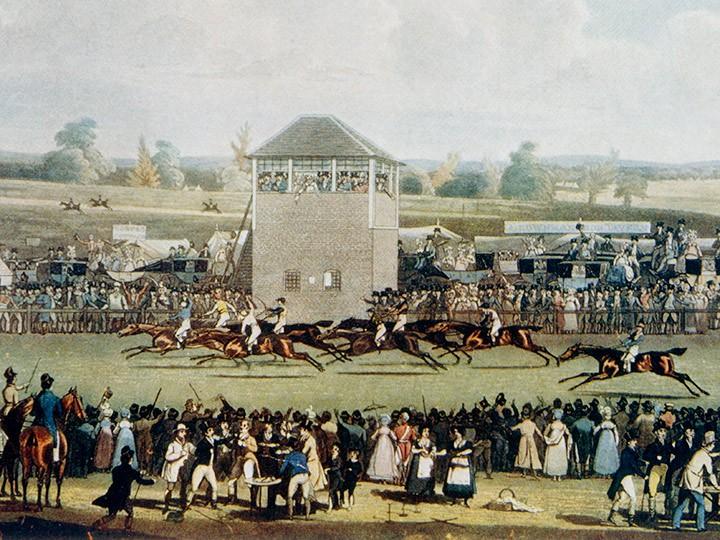 Какими были конные скачки на главном ипподроме в России в 1842 году