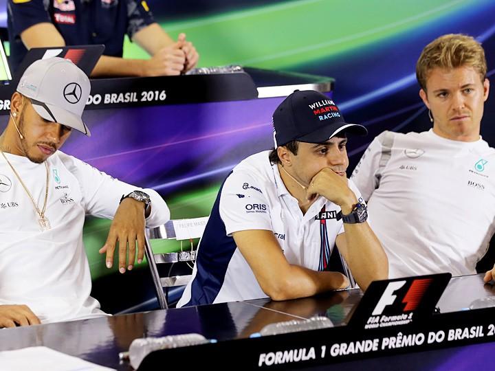 Гран-при Бразилии Формулы-1: Хэмилтон — лидер, Росберг — второй
