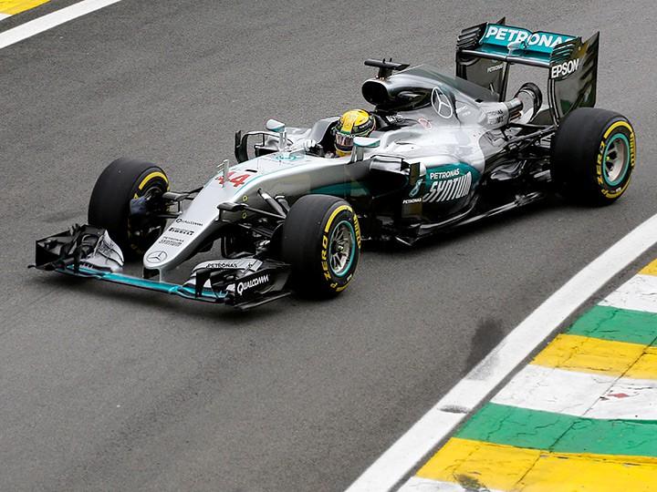 Гран-при Бразилии Формулы-1: Хэмилтон и Росберг — на первом ряду
