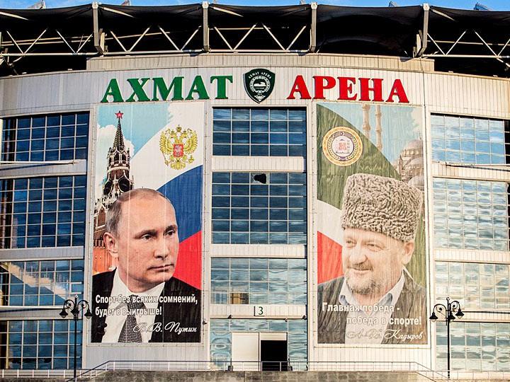 Россия — Румыния: за день до матча в Грозном. Фоторепортаж
