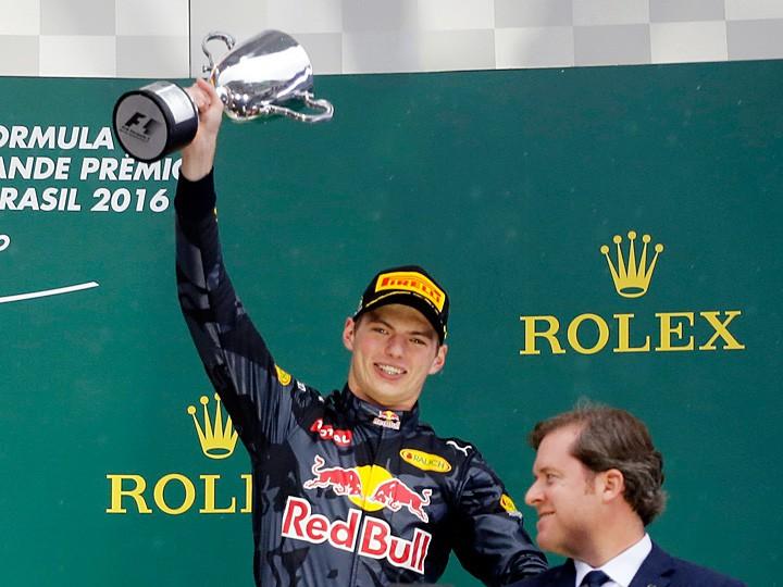 Гран-при Бразилии Формулы-1: Ферстаппена сравнивают с Сенной