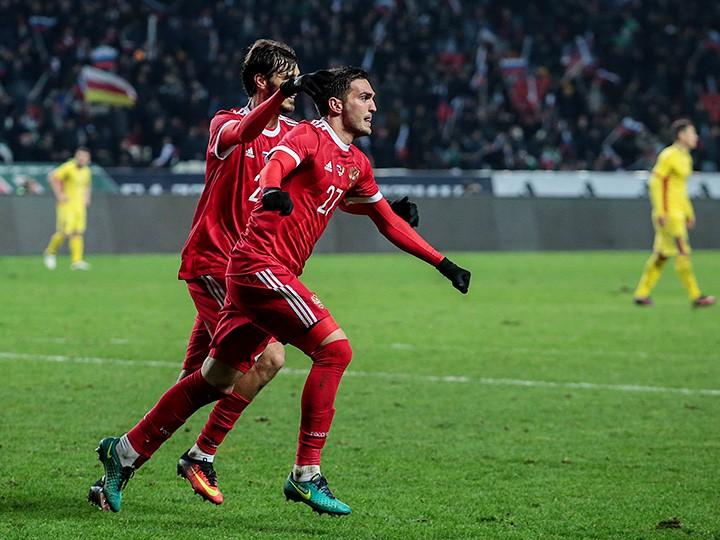 Россия — Румыния — 1:0. 15 ноября 2016, обзор матча
