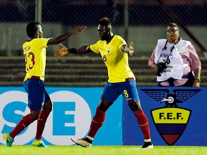 Футбол. ЧМ-2018. Эквадор — Венесуэла, Аргентина – Колумбия