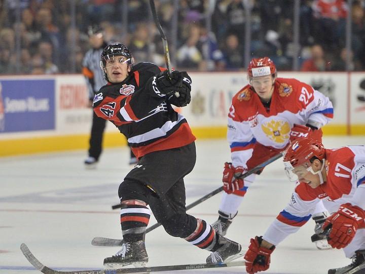 CHL Canada Russia Series. Сборная России – QMJHL – 0:4. Обзор матча
