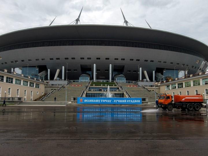 Стадион «Крестовский» в Санкт-Петербурге