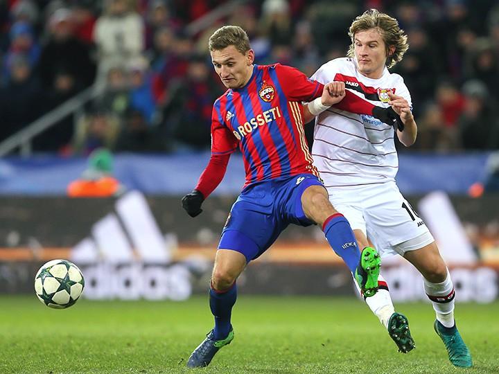 ЦСКА и«Байер» разошлись миром— Лига Чемпионов