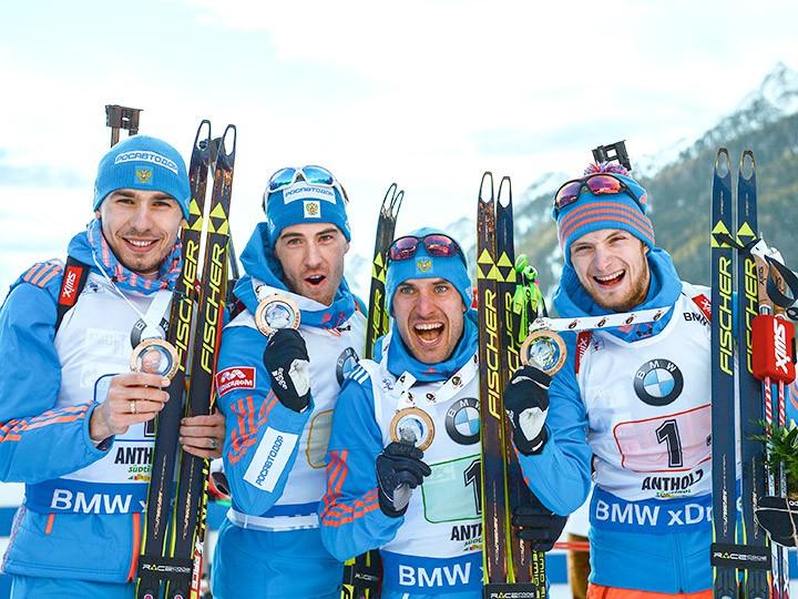 Представление мужской сборной России по биатлону