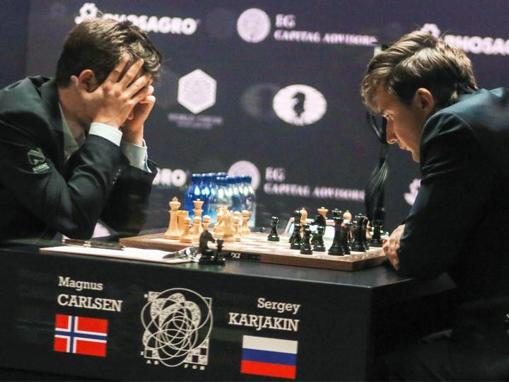 Карякин — Карлсен. 11 партия