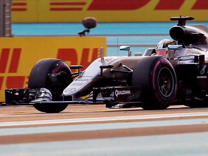 Гран-при Абу-Даби Формулы-1: Хэмилтон выиграл квалификацию