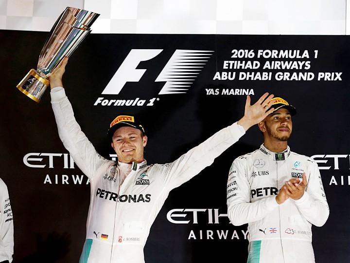 Нико Росберг стал чемпионом Формулы-1 2016 года на Гран-при Абу-Даби