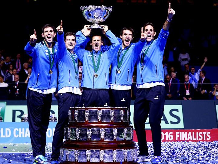 Сборная Аргентины выиграла Кубок Дэвиса