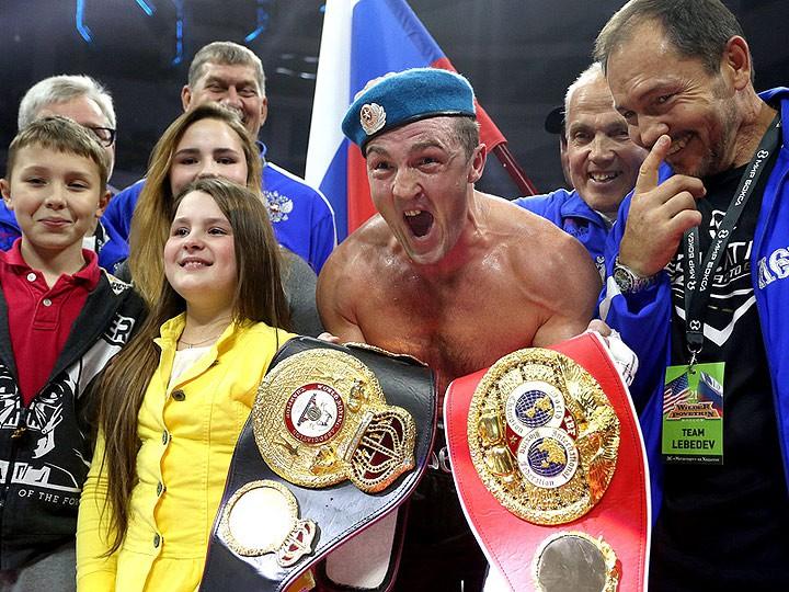 Осетинский боксер Мурат Гассиев стал чемпионом мира IBF