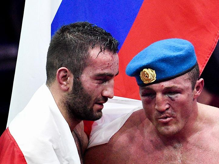 Битва за Москву. Гассиев выиграл у Лебедева