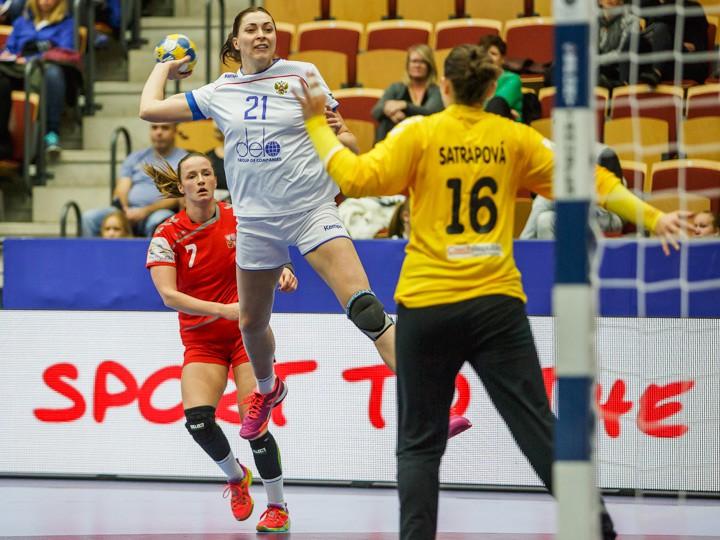 «Астраханочка» всоставе сборной Российской Федерации обыграла соперников изЧехии