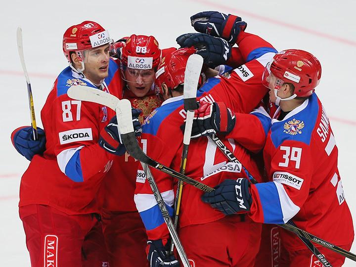 Сборная Российской Федерации переиграла команду Финляндии вматче Евротура