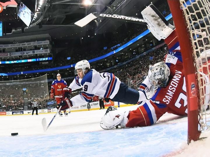 Сборная Российской Федерации обыграла Данию ивышла вполуфинал молодёжногоЧМ похоккею