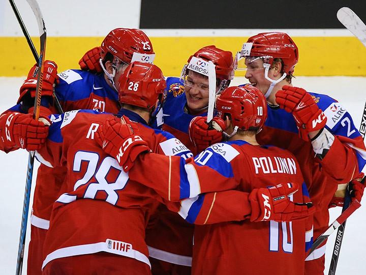 Хоккей швеция россия матч 2017