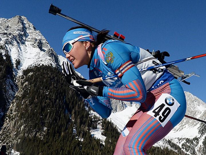 Юлия Джима заняла десятое место вмасс-старте Кубка мира