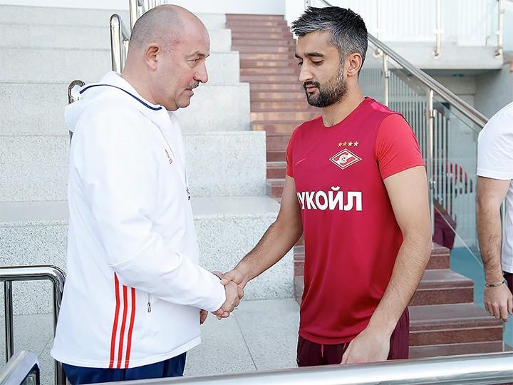Голы Самедова иЛуиса Адриано помогли «Спартаку» обыграть «Жилину» вконтрольном матче