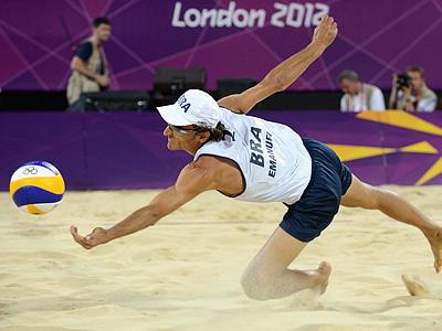 Лондон-2012. Пляжный волейбол