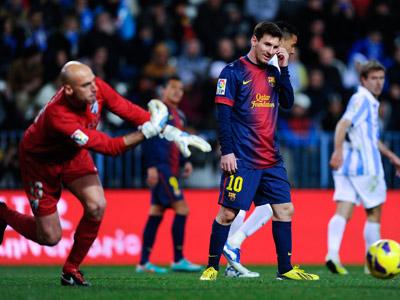 Малага — Барселона — 1:3