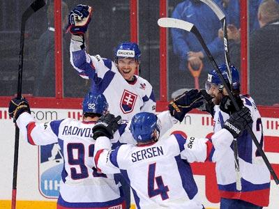 Словаки выбили сборную Канады из чемпионата мира