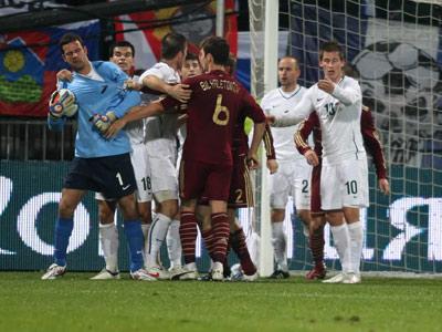 2009 год. Словения — Россия — 1:0