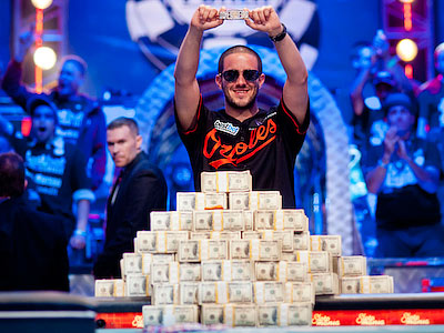 Грег Мерсон выиграл ME WSOP-2012