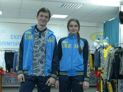 В Киеве представили форму команды Украины