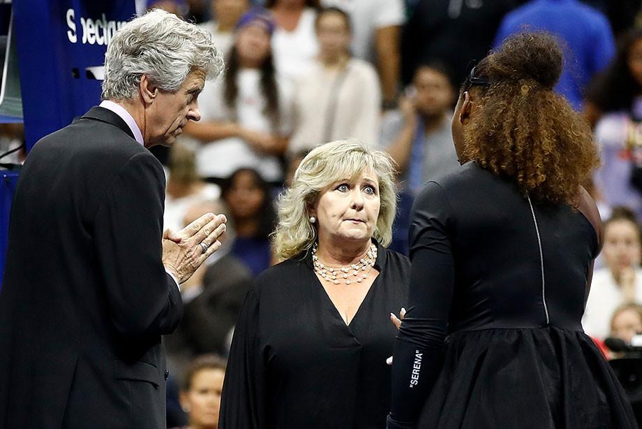 Не только истерика Серены. Кто ещё скандалил на прошедшем US Open