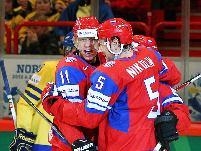 Евгений Малкин снова сыграет против Швеции