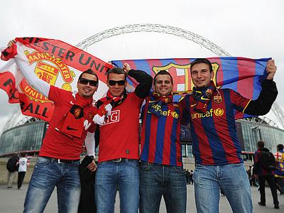 Топ-70 самых популярных футбольных клубов в Европе