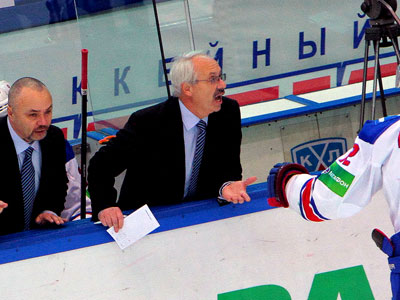 «Сибирь» - «Лев». Комментарии тренеров и игроков