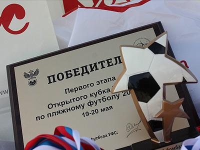 Анонс второго этапа Открытого кубка Москвы по пляжному футболу