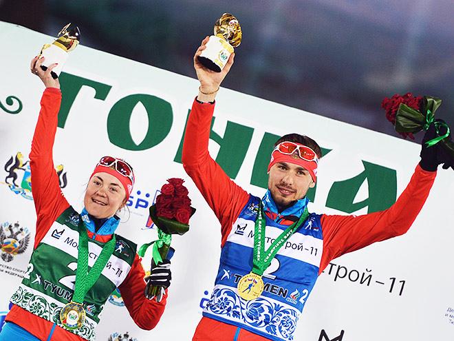 Шипулин и Юрлова выиграли «Гонку чемпионов»