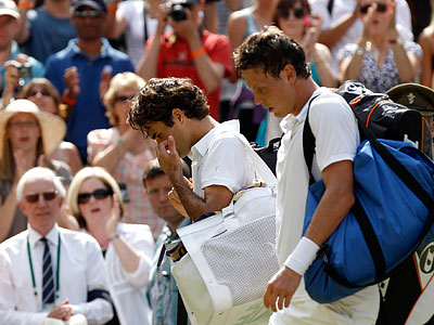 Федерера опять не пустили в полуфинал