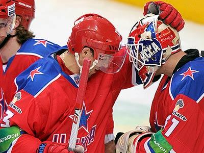 Счёт голам в КХЛ Павел Дацюк мог открыть головой