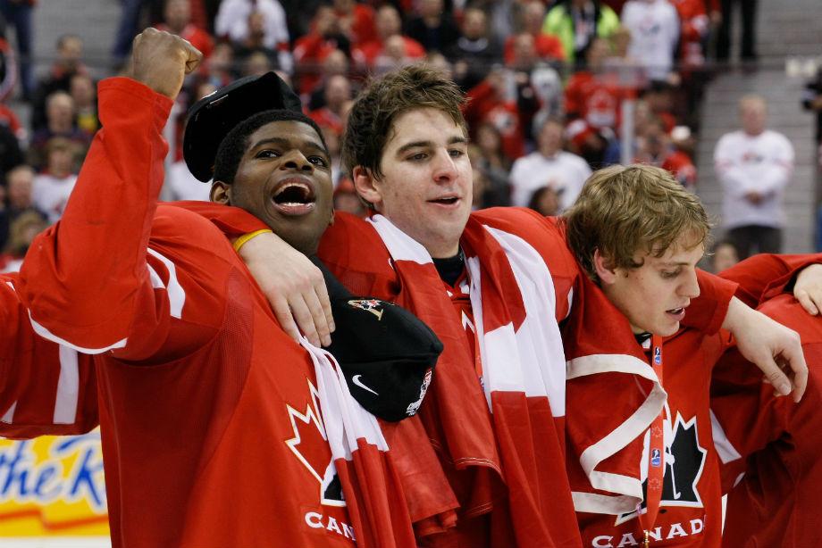 Выпуски молодёжной сборной Канады за 10 лет. Где эти хоккеисты сейчас?